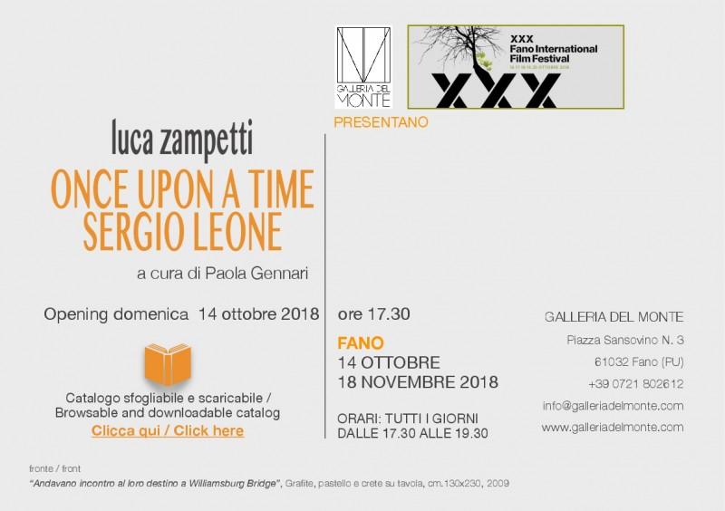 """Mostra di Luca Zampetti """"Once upon a time Sergio Leone"""""""