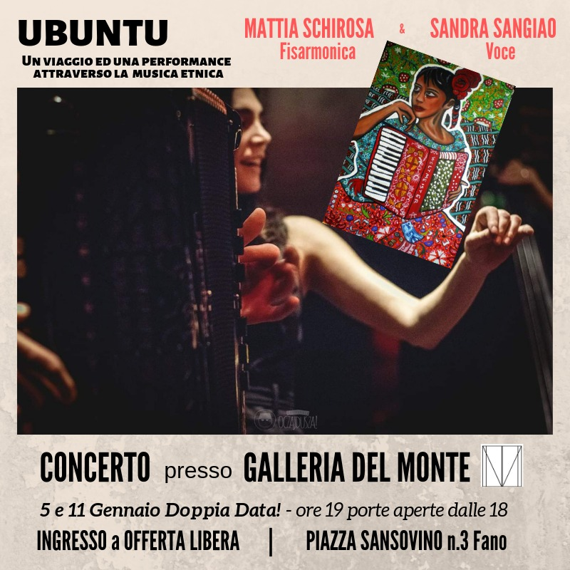 Concerto Performance UBUNTU - Fisarmonica e Voce