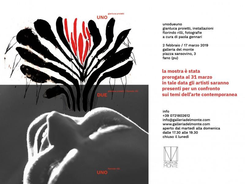 Mostra unodueuno - Gianluca Proietti - Florindo Rilli