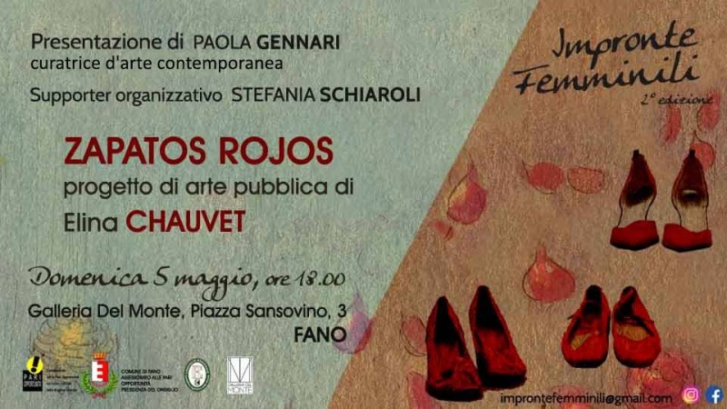 Presentazione progetto Zapatos Rojos - Elina Chauvet