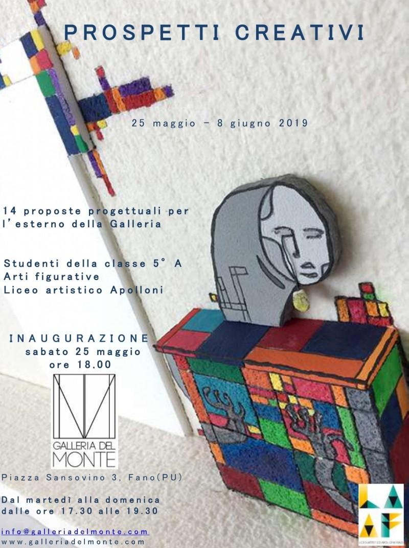Mostra Prospetti Creativi - Liceo Artistico Apolloni